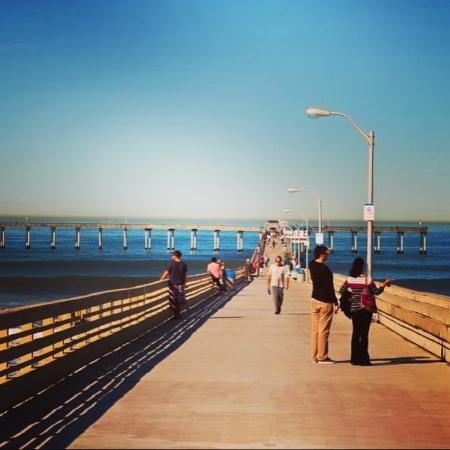 The pier picture of san diego california tripadvisor for Pier fishing san diego