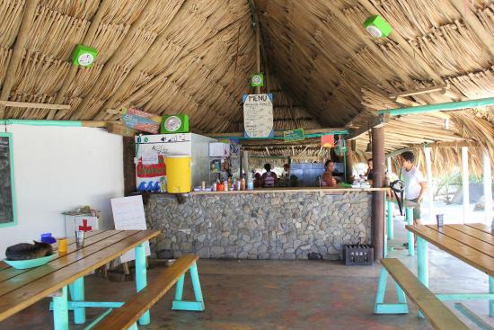 ‪‪Costeno Beach Surf Camp‬: RESTAURANTE‬