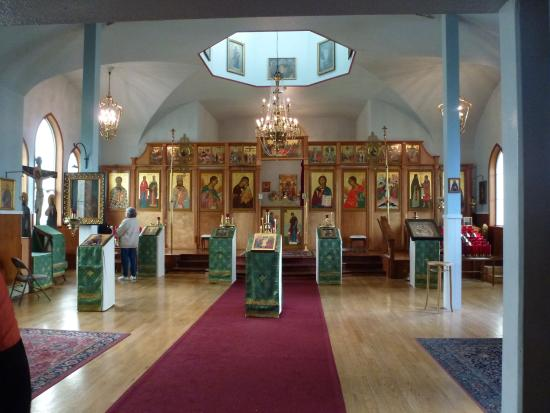 Holy Resurrection Russian Orthodox Church: Inside