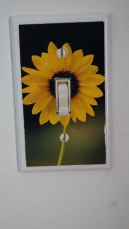 Sunflower Inn of Yoder: Lichtschalter