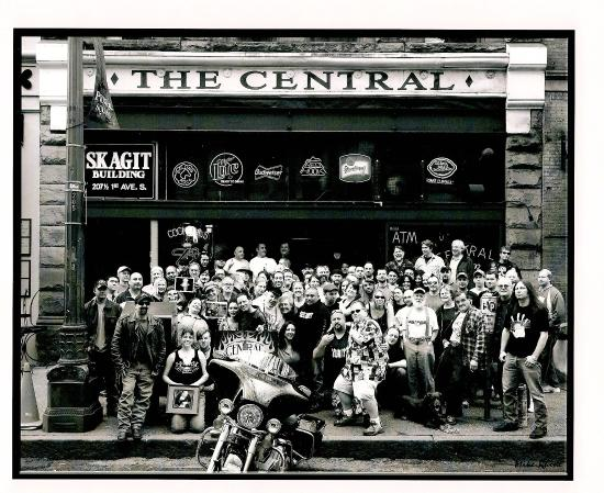 """The Central Saloon: Some of the Central """"Regulars"""""""