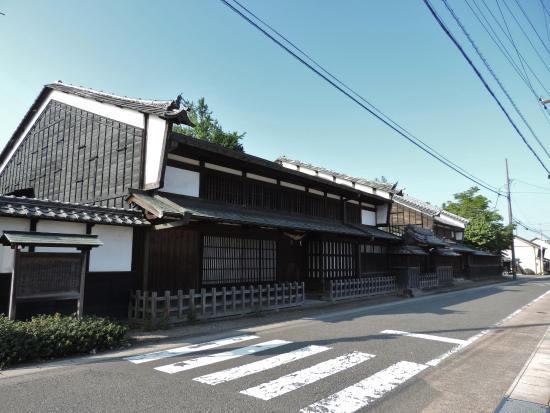Nakasendootajuku: 旧太田脇本陣林家住宅(国指定重要文化財)