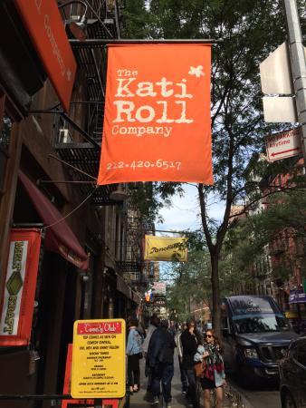 The Kati Roll Company: Kati Roll Company Sign