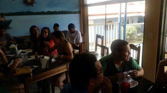 Alajuela, Costa Rica: Asi se ve Nuestra marisqueria