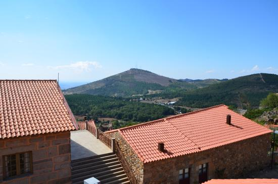 Figueira de Castelo Rodrigo, Portugalia: A Marofa vista de Castelo Rodrigo