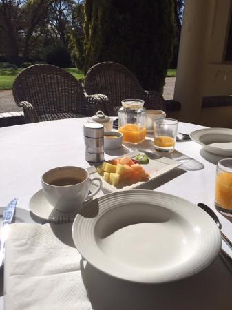 Collingrove Homestead: yummy breakfast