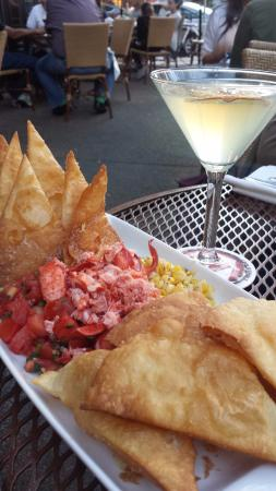 Lobster Guacamole - Picture of Stephanie's on Newbury, Boston ...