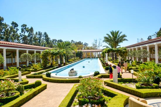 Inner Peristyle Garden Picture Of The Getty Villa