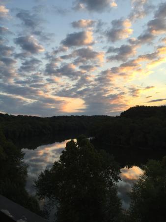 Bavarian Inn: Spectacular sunrise!