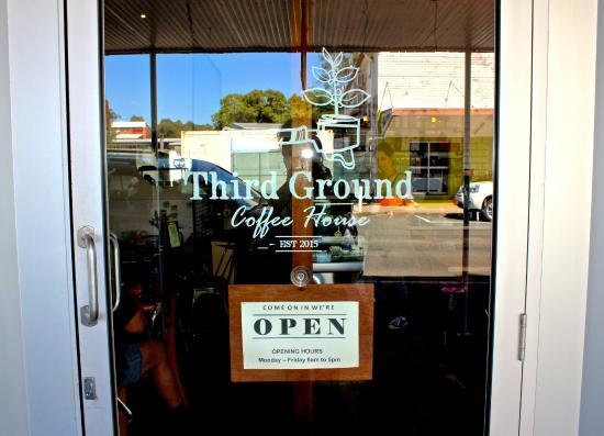 Third Ground Coffee House: We love Sarina!