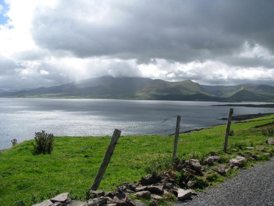 Cloghane, Irlanda: On the road to Brandon point