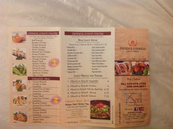 Best Chinese Food Stow Ohio