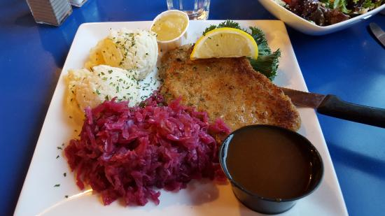 Wilno, Canada: Schnitzel