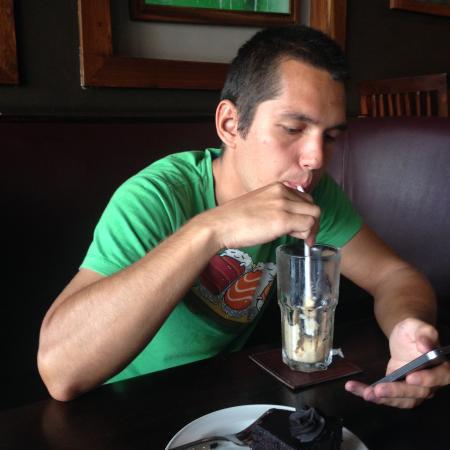 Fifi's: Mzungu sticked to coffee and wi-fi