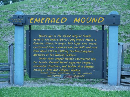 Natchez, MS: Emerald Mound
