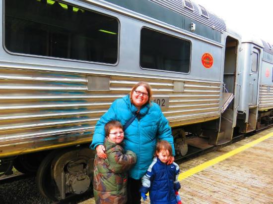 South Simcoe Railway: Fun train ride