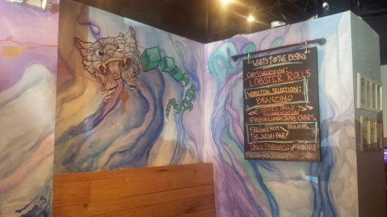 Cabin John, Maryland: Artwork on the walls