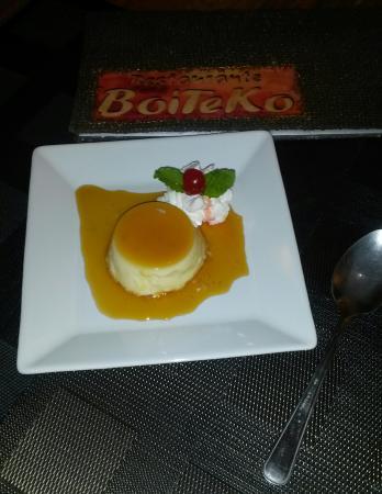 Mais uma novidade no Boiteko : Pudim de leite condesado!
