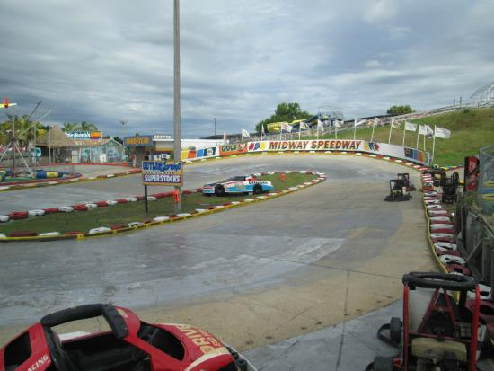 Basic Track Picture Of Midway Speedway Park Rehoboth