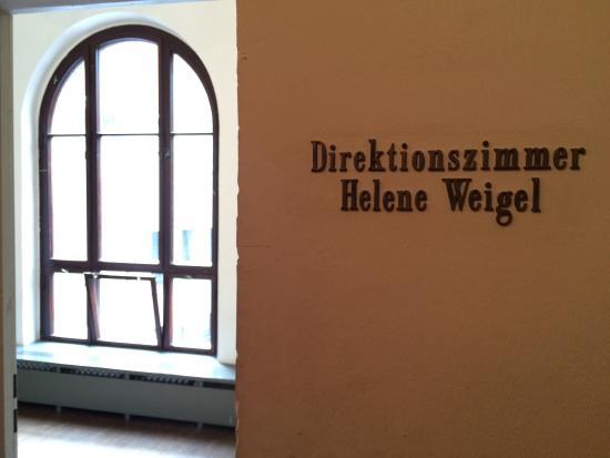 Berliner Ensemble: Entrance to the director room of Helene Weigel