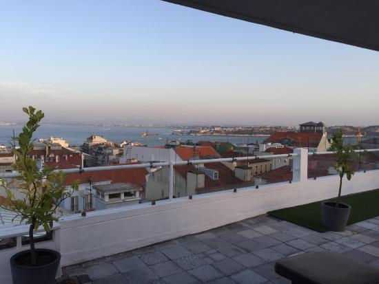 The House: terrace