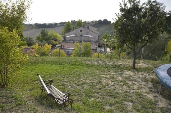 Ponzano di Fermo, Italien: The Villa and grounds