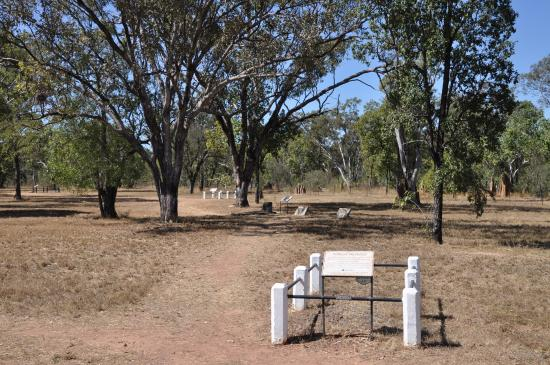 Top End, Australia: Relocated graves.