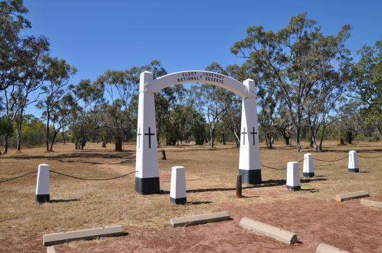 Top End, Australia: Elsy We of the Never Never Cemetery.