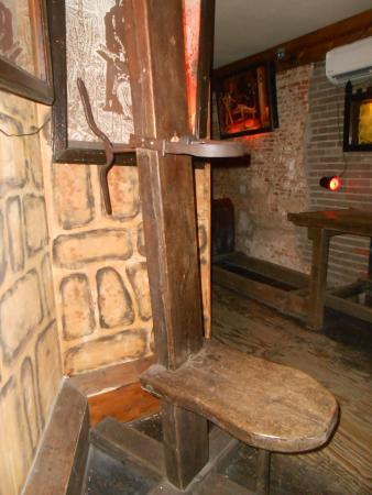 Scary Chair - Picture of Museum of Medieval Torture Instruments