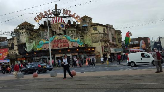 Treasure Island Arcade Blackpool