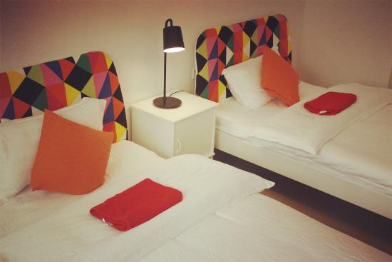 Sanya Backpackers: Twin-bed Room