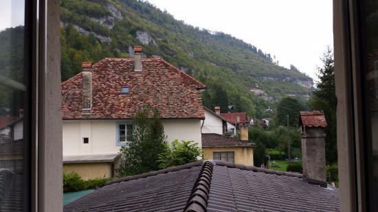 Hotel - Restaurant La Couronne: Vue depuis la chambre