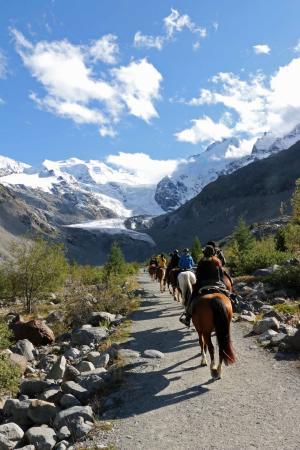 Madulain, Switzerland: unterwegs