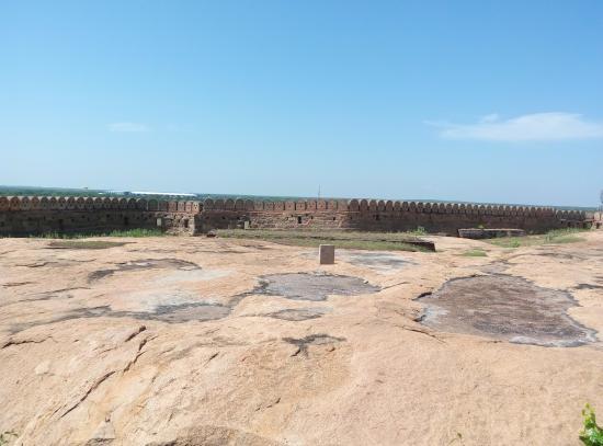 Thirumayam Fort: Tirumayam Fort