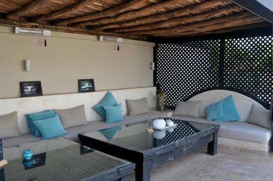 Riad O: Lounge