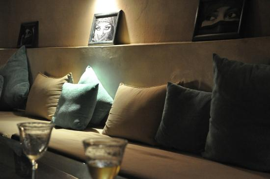 Riad O: Lounge/bar