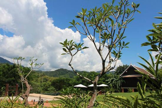 Nam Ou Riverside Hotel & Resort : Garden View
