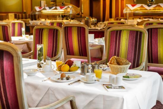 Johannesbad Hotel Palace: Vielfalt am Frühstücksbuffet