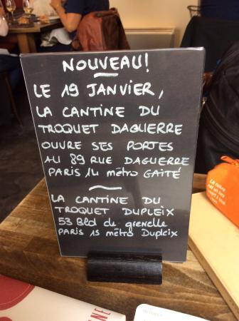 Troquet la cantine du troquet tripadvisor - La cantine du troquet rungis ...