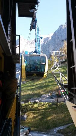 Liezen, النمسا: Seilbahn zum Dachstein