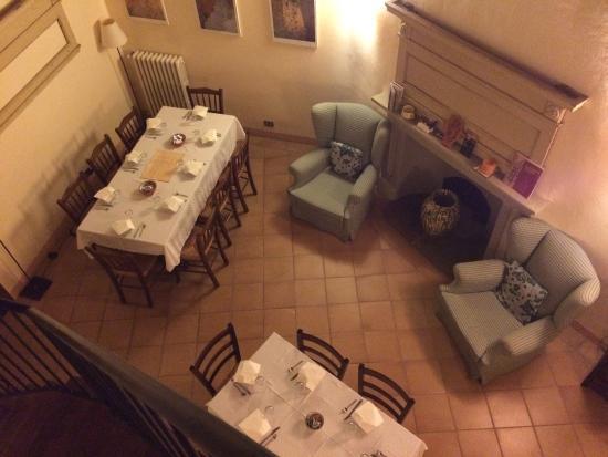 Locanda Petrella: Panorama dalla camera e zona colazione