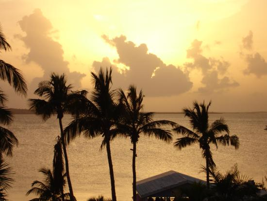 Romora Bay Resort & Marina: Coucher de soleil