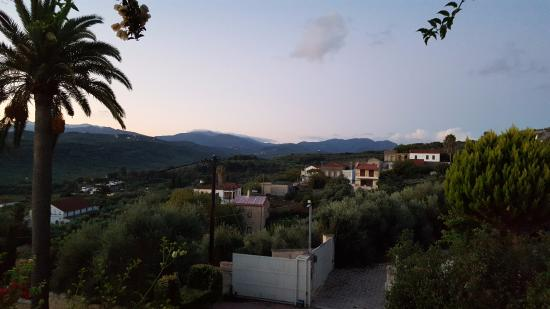Spilia Village Hotel: View from main bedroom