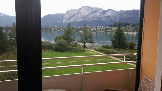 Seehotel Restaurant Lackner: הנוף מהמרפסת