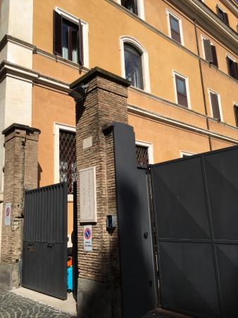 Domus Carmelitana: Gated Entrance
