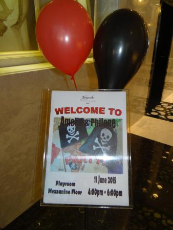 Kempinski Residences & Suites, Doha : Amelie and Philene's birthday party