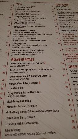 941edf98 menu Mamacita Senayan City, Jakarta - Picture of Mamacita Jakarta ...