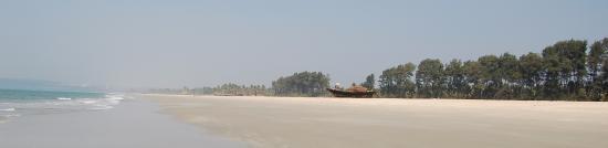 Nanu Resort Goa: Это пляж и почти всегда он такой...