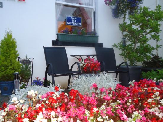 Leonard's Field House: Sunny Guest Garden
