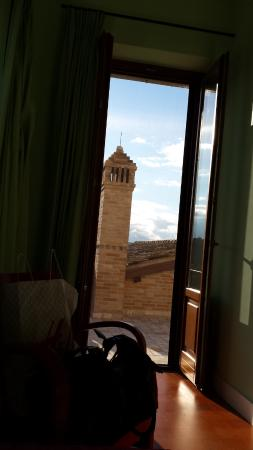 Montottone, Italia: Vista dalla stanza